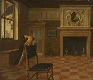 Hendrick Van The Younger .. - Interior of a House with ..