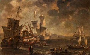 Hendrik Van Minderhout - Shipping in a Haven