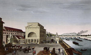 Henri Courvoisier Voisin - The Barriere de Passy, c.1815 ..