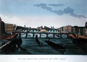 Henri Courvoisier Voisin - The Pont des Arts and the Pont..