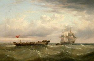Henry Redmore - The Barque 'Canton' Aband..