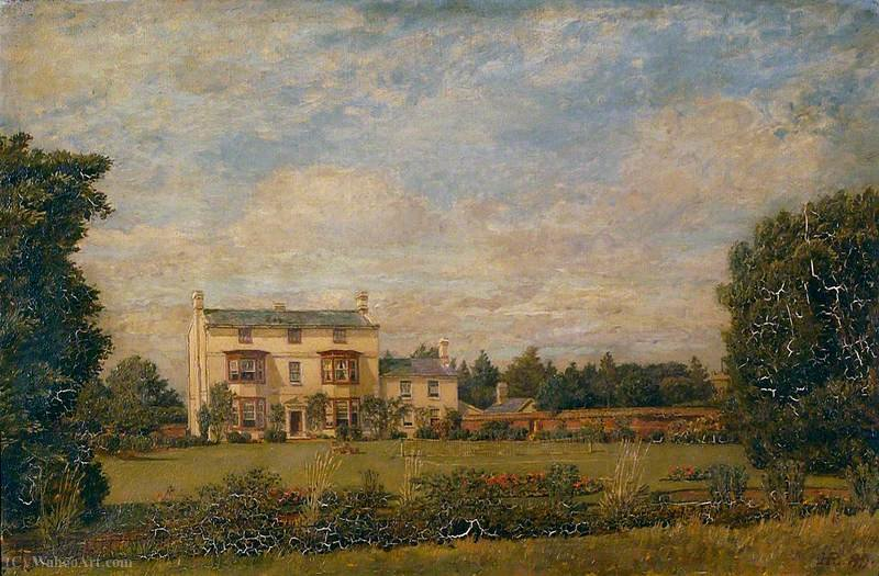 Henley hall, suffolk by Henry Robert Robertson (1990-2013, United Kingdom) | Museum Art Reproductions | ArtsDot.com