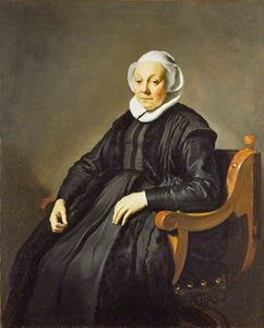 Jacob Adriaensz Backer - Portrait of an Elderly Wo..