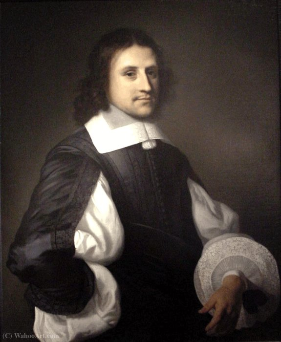 Portrait of a Gentleman by Jacob Van Loo (1614-1670, Netherlands)