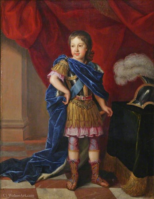 James Francis Edward Stuart, 'The Old Pretender' (1688-1766) , as Prince of Wales by Jacques Van Schuppen (1670-1751, France)