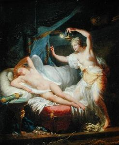 Jean Baptiste Baron Regnault - Cupid and Psyche