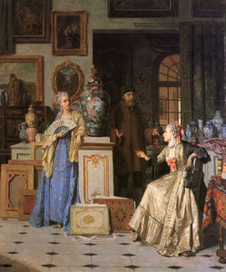 Jean Carolus - At the Antiquarian's