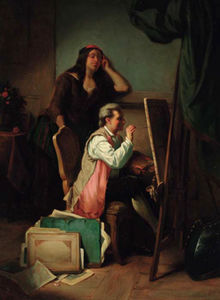 Jean Carolus - The artists studio