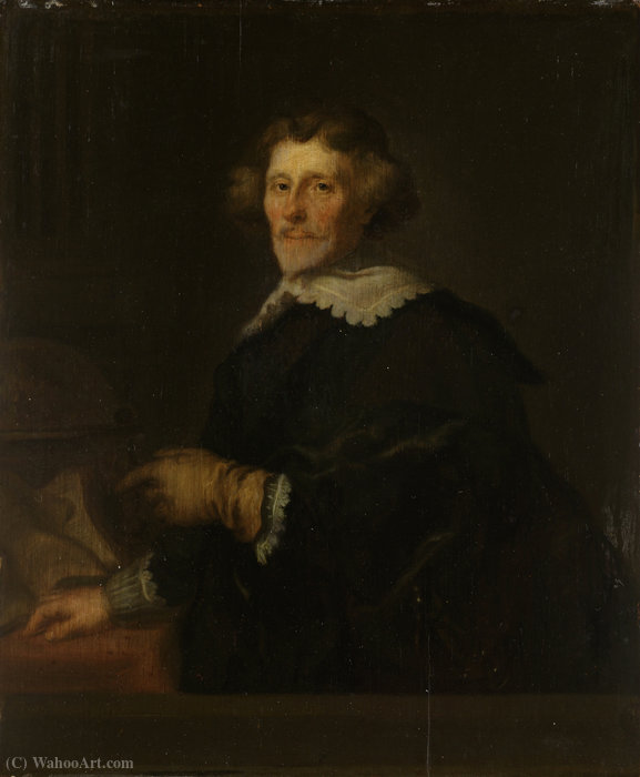 Portrait of Pieter Cornelisz by Joachim Von Sandrart (1606-1686, Germany)
