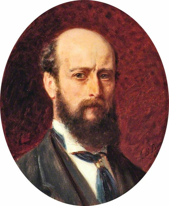 Buy Museum Art Reproductions | Self portrait by John Bagnold Burgess (1829-1897, United Kingdom) | ArtsDot.com