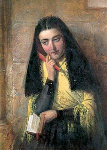 John Bagnold Burgess - Spanish girl