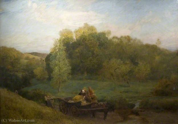 Sweet Water Meadows of the West by John William North (1842-1924, United Kingdom) | ArtsDot.com