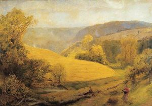 John William North - The Late Afternoon in England