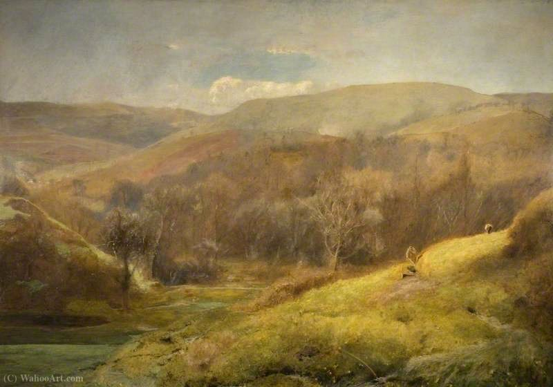 The Sweet Meadow Waters of the West by John William North (1842-1924, United Kingdom)
