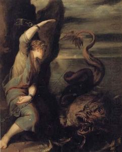 Juan Antonio Frias Y Escalante - Andromeda and the Monster