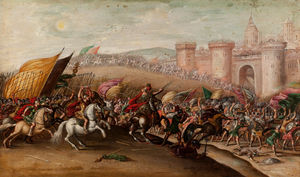 Juan De La Corte - The Capture of Hai by Jos..