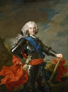 Louis Michel Van Loo - Portrait of Philip V of Spain