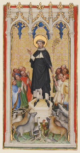 Master Of Saint Veronica - Anthony Abbot Blessing th..