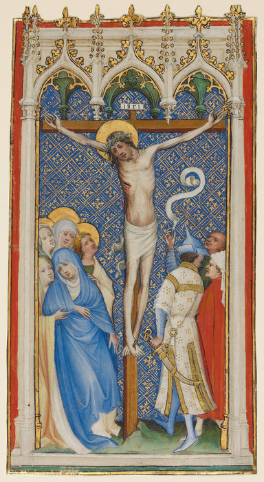 The crucifixion by Master Of Saint Veronica | Art Reproduction | ArtsDot.com