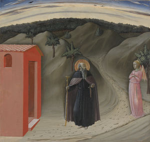 Master Of The Osservanza - Temptation of Saint Anthony Abbot