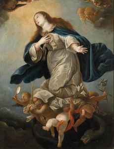 Mateo The Younger Cerezo - Immaculate Virgin, former..