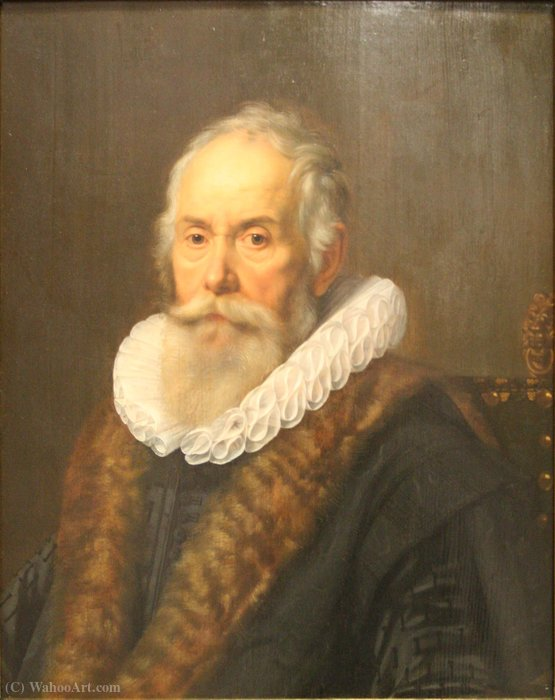 Order Oil Painting : Portrait of a Man by Nicolaes Eliasz Pickenoy (1588-1650, Netherlands) | ArtsDot.com