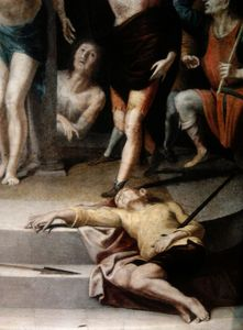 Pedro De Campaña - Flagellation of Christ (d..