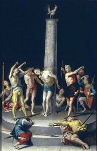 Pedro De Campaña - Flagellation of Christ.