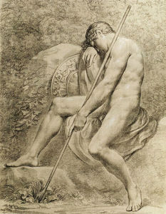 Pelagio Palagi - The sleeping Endymion