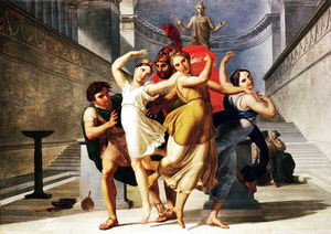 Pelagio Palagi - Theseus and Pirithous abd..