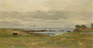 Pierre-Emmanuel Damoye - On the brittany coast