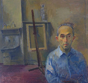 Raphael Soyer - Self portrait