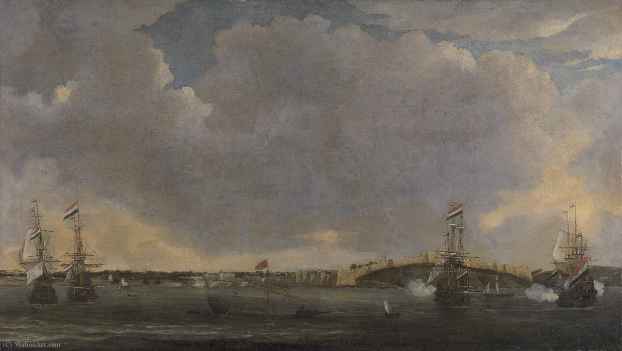 View tripolis by Reiner Nooms (1623-1667, Netherlands)