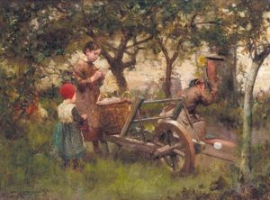 Robert Mcgregor - In the orchard