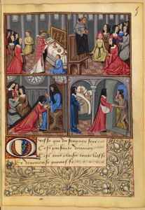 Robinet Testard - Scenes of a pious lady, m..