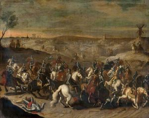Sebastian Vrancx - The Battle of Leckerbeetje, (1..