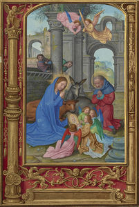Simon Bening - The nativity