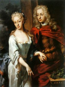 Godfrey Kneller - Portrait of a couple.