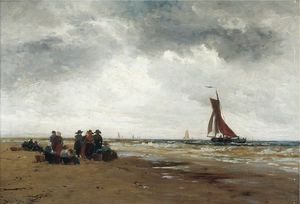 Thomas Bush Hardy - On the dutch coast