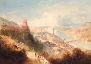 Thomas Charles Leeson Rowbotha.. - Castle and Town of Heidelberg,..