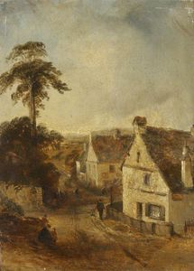 Thomas Colman Dibdin - Ambleside as Seen from 'The Wh..