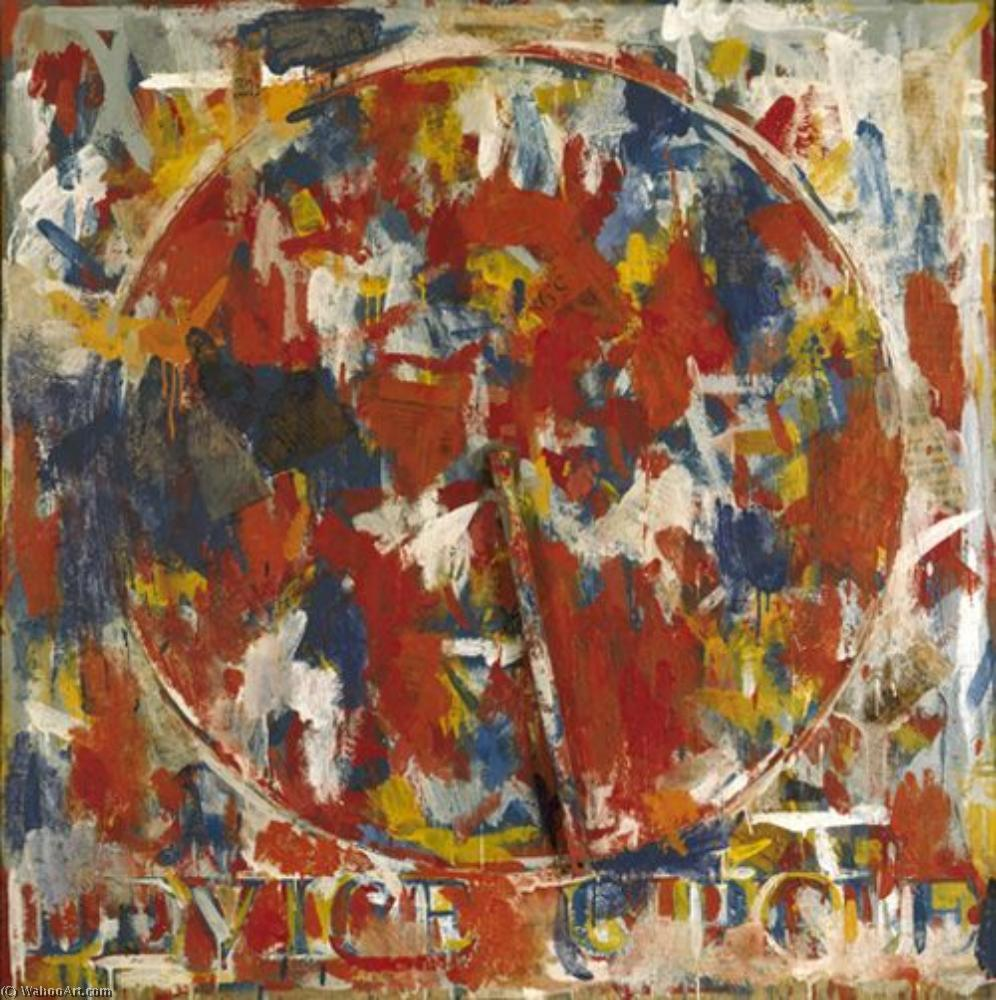 Device circle by Jasper Johns | Oil Painting | ArtsDot.com