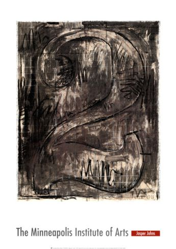 Figure by Jasper Johns | Museum Quality Reproductions | ArtsDot.com