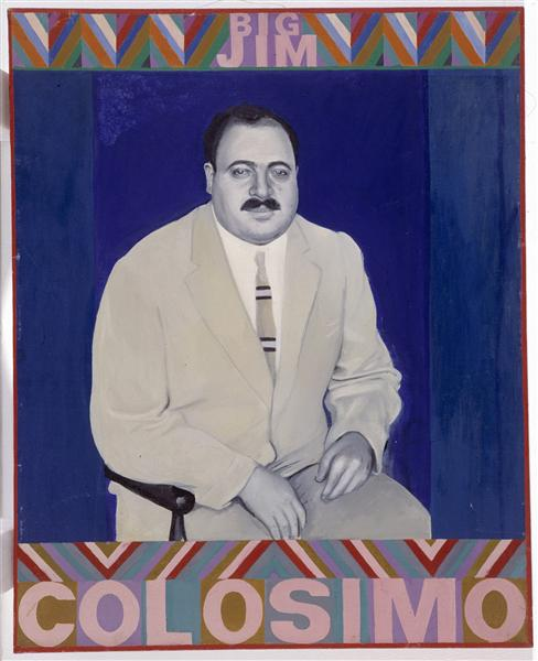 Big jim colosimo by Pauline Boty (1938-1966)