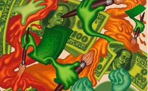Peter Saul - Some crazy pictures