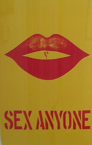 Sex anyone by Robert Indiana (order Fine Art hand made painting Robert Indiana)