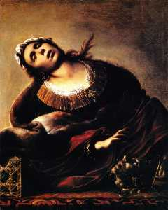 Francesco Del Cairo - Herodias with the head of..