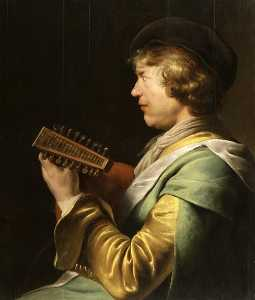 Jan Andrea Lievens - The Lute Player