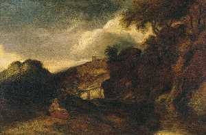 Jan Andrea Lievens - Landscape, with the Rest ..