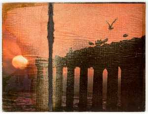 Joseph Cornell - Untitled (Birds, Columns,..
